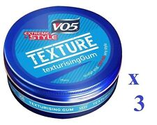 3 x VO5 Extreme Style Texturising Gum 75ml Each