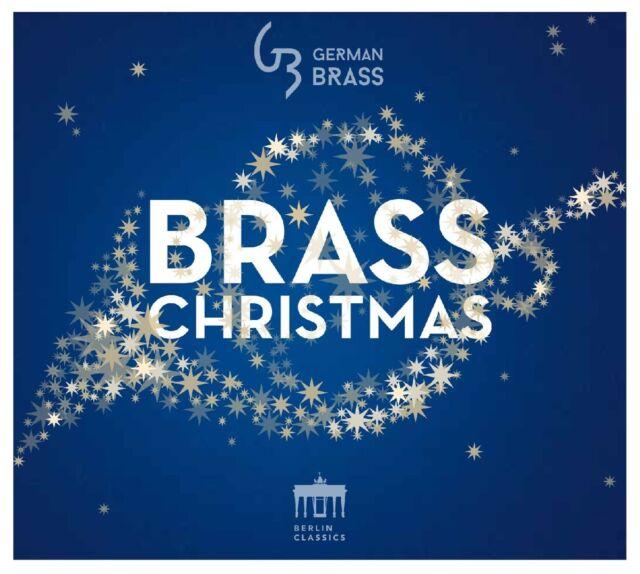 GERMAN BRASS - Brass Christmas, 1 Audio-CD