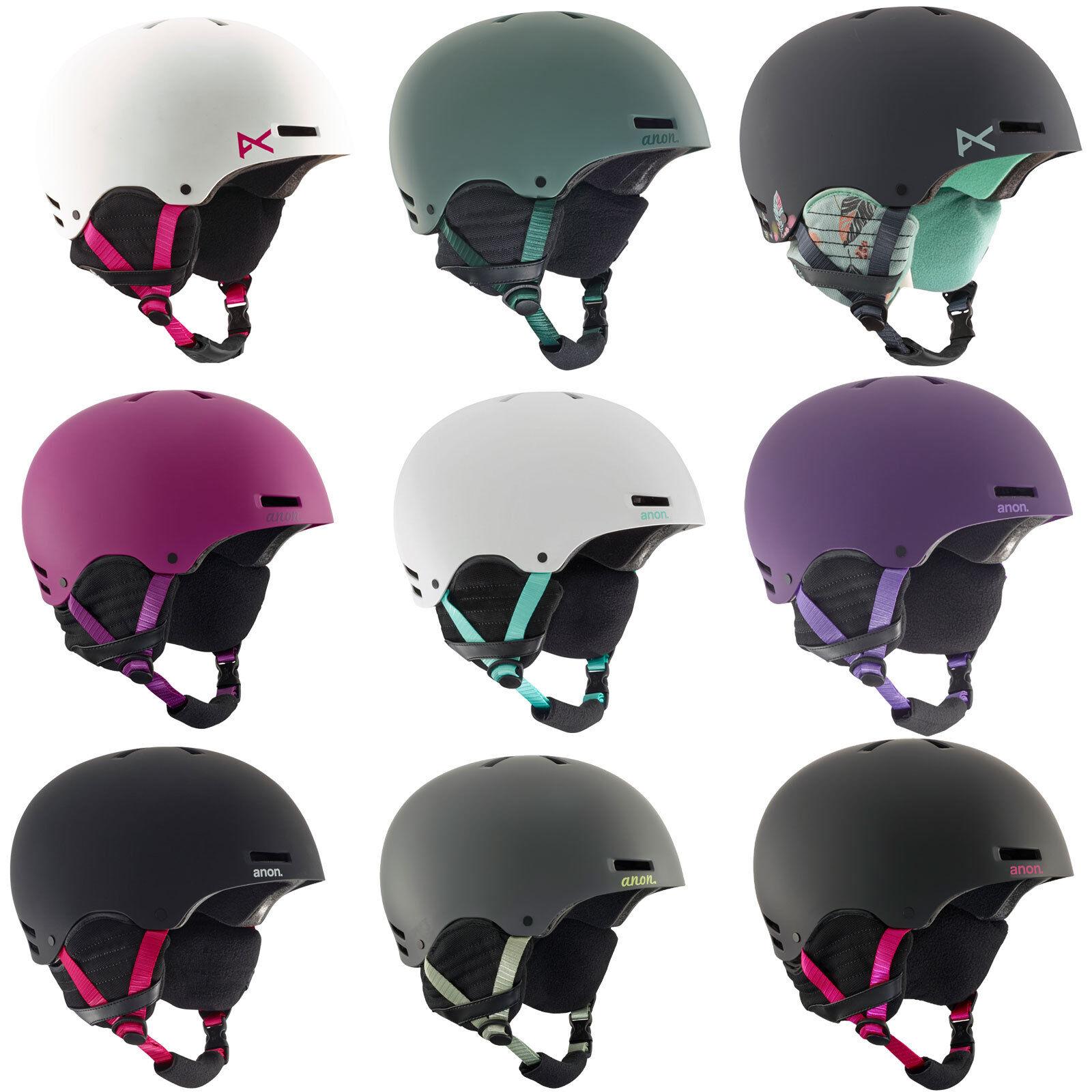 Anon Greta DaSie-Snowboardhelm Skihelm Helm Helmet Wintersport Protektion