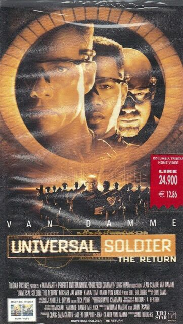 VHS UNIVERSAL SOLDIER THE RETURN