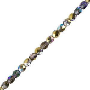 Crystal-Golden-Rainbow-6mm-Czech-Fire-Polished-Beads-6-034-Strand-25-Piece-G105-2