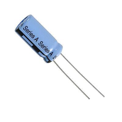 QTY: 4 PEZZI CONDENSATORE ELETTROLITICO 1000uF 16V 105° 10x20mm