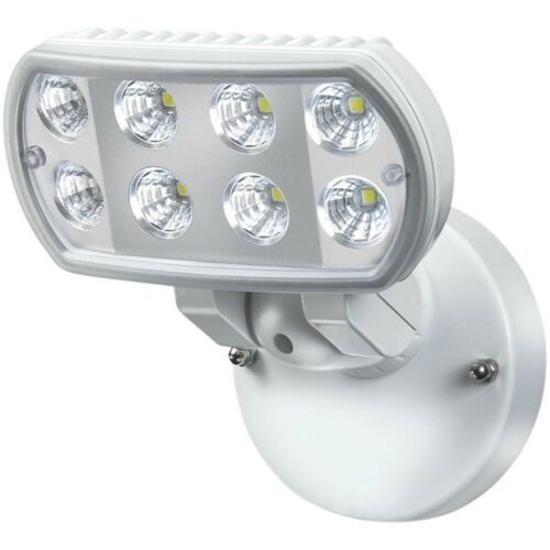 Brennenstuhl Strahler Hochleistungs LED Leuchte L801 IP55 8x1W 850lm weiß