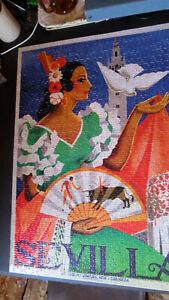 Mega Puzzles 1000-piece Jigsaw Puzzle - Around the World: Sevilla - Complete