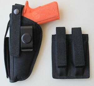 Gun-Holster-Hip-Belt-amp-Magazine-Pouch-Combo-for-COLT-45-1911-5-034