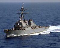 8x10 Photo: Uss The Sullivans, Arleigh-burke Destroyer Navy Ship