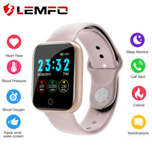 Lemfo-I5-Hombre-Mujer-Monitor-de-sueno-Reloj-inteligente-Bluetooth-Android-IOS