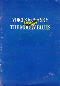MOODY-BLUES-1984-VOICES-IN-THE-SKY-TOUR-CONCERT-PROGRAM-BOOK-BOOKLET-VG-TO-NMT