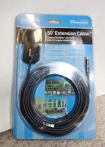 Sirius Satellite Radio 50/' Antenna Extension Cable