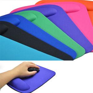 Color-Optical-Mouse-Pad-Comfort-Wrist-Gel-Wrist-Support-Mat-PC-Laptop-Computer