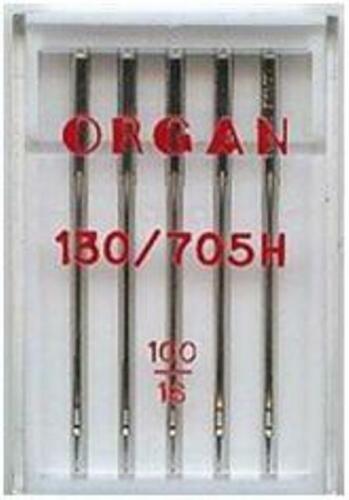 Máquina De Coser Agujas 1 lado plano tamaño 100//16 Organ encaja hermano Janome Singer