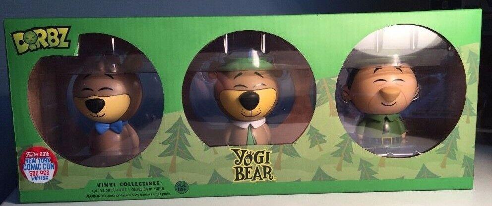 Funko Dorbz NYCC 2016 Exclusive Yogi Bear 3 Pack Yogi Boo Boo & Ranger