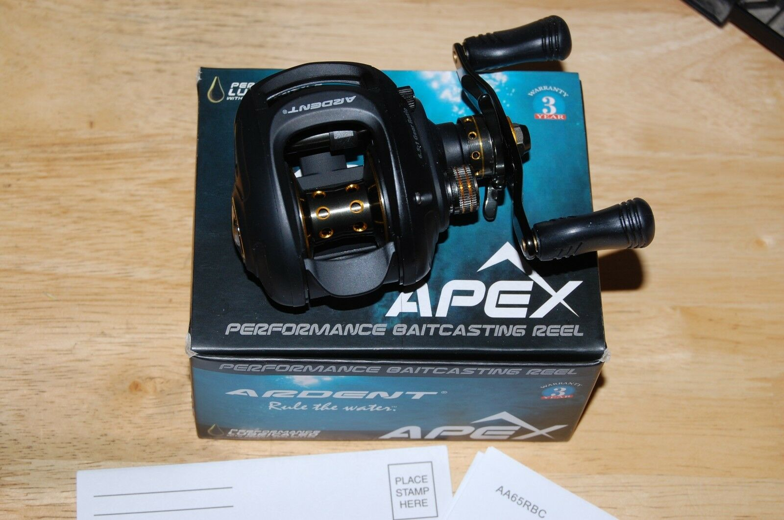 Ardent apex bass fishing reel baitcasting 81 high precision ball bearings 6.5 1