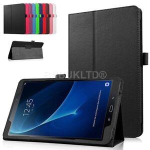 Para-Samsung-Galaxy-Tab-S3-9-7-T820-T825-Leather-Folio-Estuche-De-pie-Cubierta