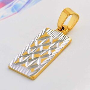 Amazing-vintage-jewellery-womens-pendant-Silver-14K-Solid-Gold-Filled