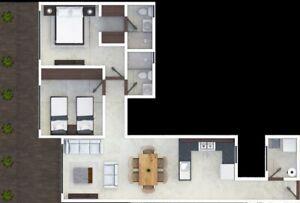 Excelente garden house con amplia terraza en edificio moderno al mejor precio