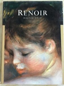 RENOIR-Masters-of-Art-Walter-Pach-Hardcover-art-book-classic-painter