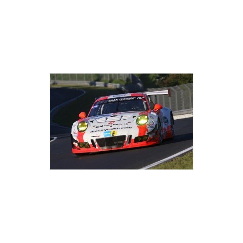 Spark SG323 Porsche 911 GT3 R N12 Femmethey Team Nürburgring 2017 1/43 | Des Technologies Sophistiquées