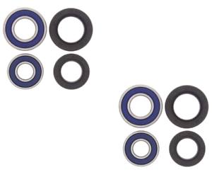 2 25-1044 New 2006-2016 Yamaha 700 Raptor All Balls Front Wheel Bearings Seals