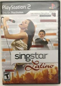 Singstar Latino (very rare)playstation 2 (new-sealed)ps2 (game only-no mics