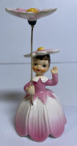 Napco-Flower-Of-The-Month-Girl-Miss-Cosmos-October-A1949-1956-Umbrella-Parasol