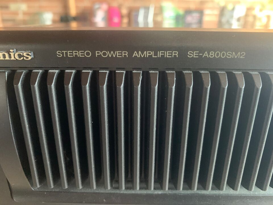 Effektforstærker, Technics, SE - A800SM2