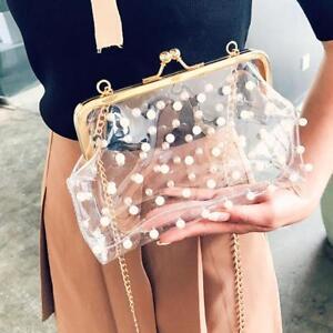 Vintage-Clutch-Pearl-Beaded-Transparent-Chain-Luxury-Purse-Crossbody-Buckle-Bag