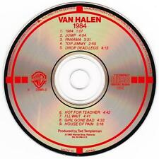 VAN HALEN - 1984 (CD 1983) USA/JAPAN First Edition EXC TARGET Warner 9 23985-2