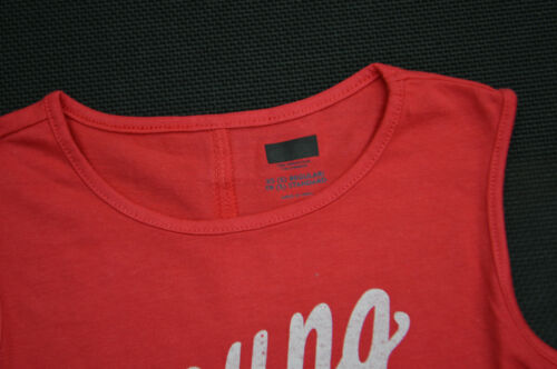 NEW Old Navy Girls Racer Back T Shirts SIZES RED 5,6,8,10,14 /& 16