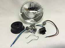 """Reflektor Lampe Scheinwerfer Simson S50 S51 S53 S70 S83 H4 Einsatz 5"""" Zoll NEU"""
