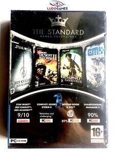 The-Standard-Star-Wars-Jedi-Academy-amp-Beyond-Good-amp-Evil-amp-CM4-amp-DS-2-PC-Neuf