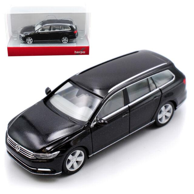 VW Volkswagen Passat B8 Variant Kombi Oak Braun Schwarz Ab 2014 1//43 Herpa Mod..