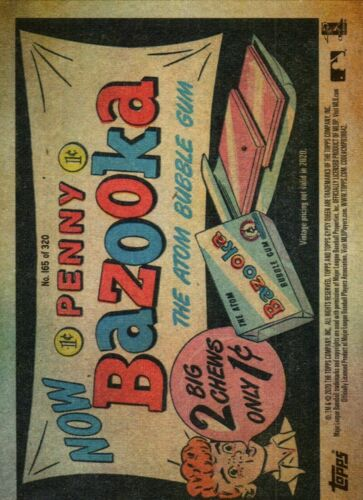 2020 Gypsy Queen Variations U PICK! Parallel Missing Nameplate Bazooka