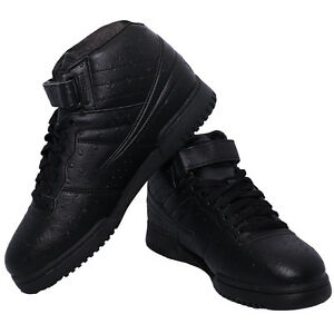 new men fila f13 f 13 ostrich premium classic mid high top basketball shoes ebay. Black Bedroom Furniture Sets. Home Design Ideas