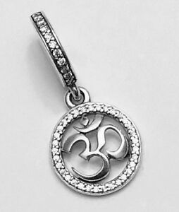 Authentic-Pandora-OM-SYMBOL-DANGLE-CHARM-W-Pandora-TAG-amp-HINGED-BOX-797584CZ