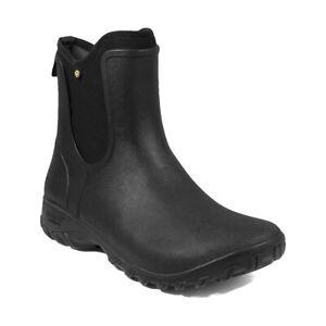 080f8a2b48dbb Women's Bogs Sauvie Slip On Waterproof Garden Boots Black 72203-001 ...