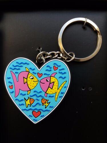 Goebel James Rizzi Birds Love Schlüsselanhänger Pop Art NEUHEIT 2017 Göbel Neu