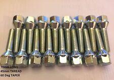 16 x m12x1.25 70mm di lunghezza 45mm Filetto Prolungato Distanziale Bulloni Si Adatta Alfa Romeo 58.1