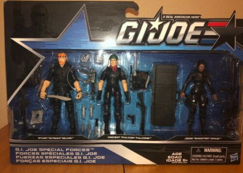 GI JOE 50th Anniversary Special Forces set Outback Falcon Shooter 2016