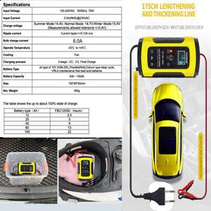 EU-Chargeur-de-Batterie-12V-6A-Automatique-Intelligent-pour-Auto-Moto-Voiture