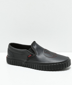 Details about NEW Vans x Marvel Slip-On Black Widow Skate Shoes Mens Womens  Red 6df60e3ae