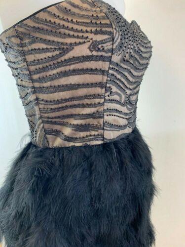 Ladies New Ex Coast Embellished Feather Dress Size 6 8 10 12 14 16 18