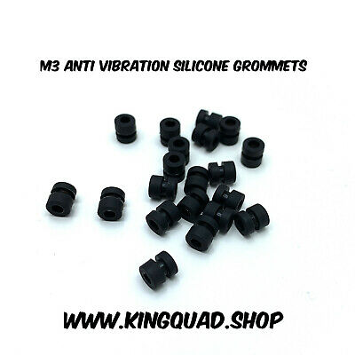 Anti Vibration Silicone Grommets M3 Soft Mount For Flight Controllers Purple x10