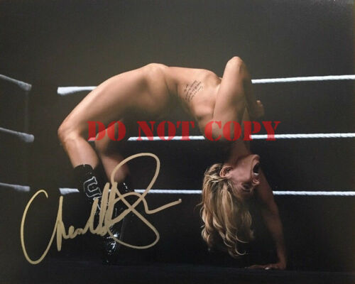 Charlotte Flair Signed Autographed WWE ESPN The Body Issue 8x10 photo