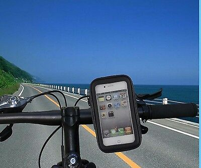 Waterproof Motorcycle Bicycle Bike Mount Rotating Holder case for hot cell phone