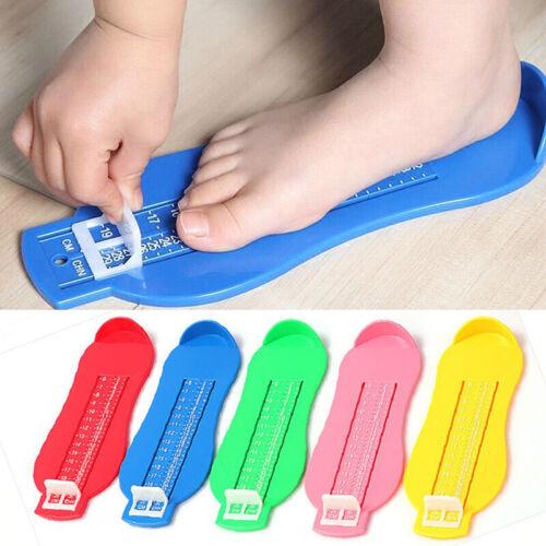 Baby Foot Measure Kids Infant Toddler Gauge Shoes Size Measuring Ruler Tool New