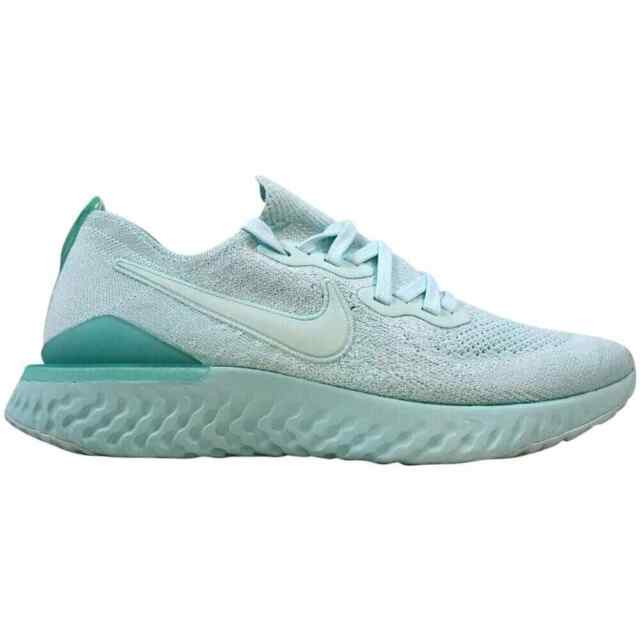 Women's Nike Epic React Flyknit 2 Running Shoes Teal Tint New BQ8927 300