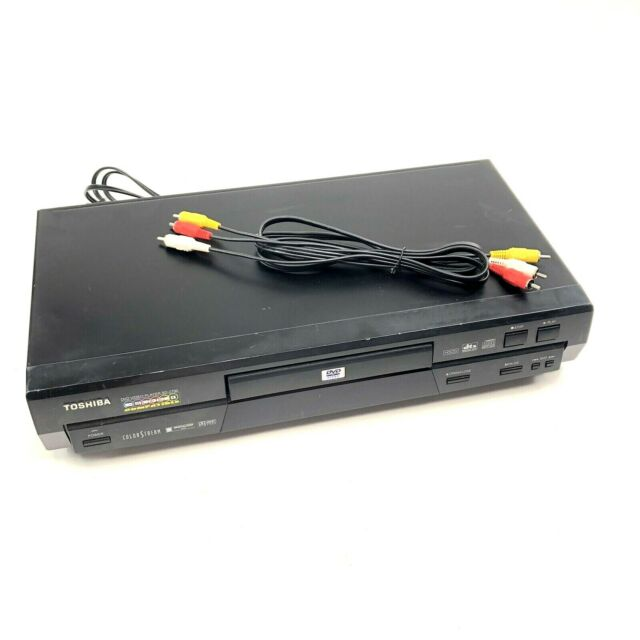 Toshiba SD-2700U Fully Functional DVD Player A/V Cable & Power Cord Included