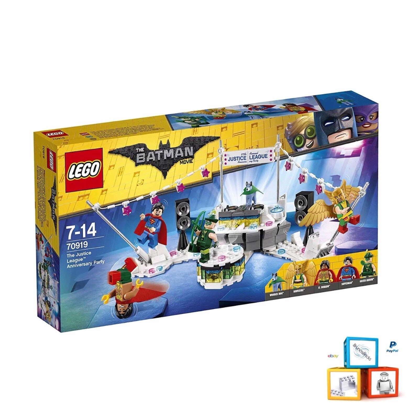 Lego Batman Movie [70919] The Justice League Anniversary New