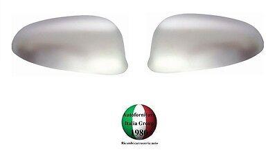 COPPIA CALOTTE SPECCHIO RETROVISORE SX+DX CROMATE SATINATE FIAT BRAVO 07/> 2007/>